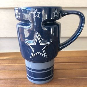 Cowboys NFL Travel Ceramic Mug by Boelter Brands